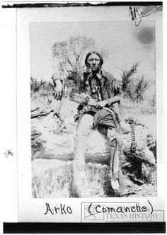 [Arko, Comanche Warrior] Photo by William E Irwin, circa Indian Territory Courtesy of The Portal to Texas History digital repository hosted by the Univ. Native American Pictures, Native American Beauty, American Spirit, Native American Tribes, Native American History, American Indians, Native Indian, Native Art, Red Indian