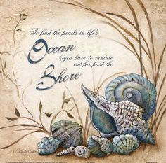 The Shore by Charlene Winter Olson art print