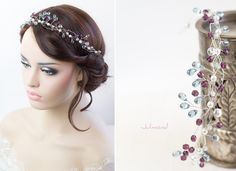 Haarschmuck & Kopfputz - Diadem Tiara Perlen Krone Hochzeit - ein Designerstück von _Julmond_ bei DaWanda