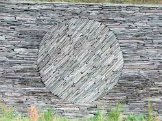 Touchstone Fold, Tilberthwaite Glen, Cumbria, England by Andy Goldsworthy