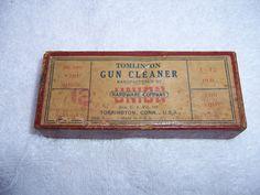 Vintage Tomlinson Gun Cleaner  12 Gauge in by PittsburghFieldFinds