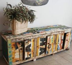 From Nautical To Domestic: Old African Boats Recycled Into Bold Furniture