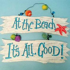 Beach Words, Surf, Beach Cottage Style, Beach House, Ocean House, I Love The Beach, Beach Quotes, Ocean Quotes, Painted Wood Signs
