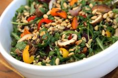 To Market, To Market with San Diego Foodstuff: Grilled Vegetable and Barley Salad with Arugula