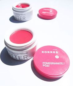 KORRES // These lip butters are legit coloured butter for your lips!!! Does amazing things for my lips  #korres #korresofficial #meccamaxima