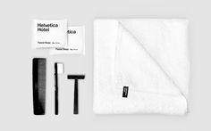 Designer Reimagines 'Helvetica' As A Hotel