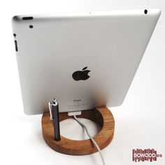 Woody Dock Paint de Iroko. Para iPad y otros tablets