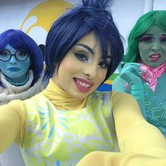 26 Women Who Took Their Disney Halloween Costumes to the Next Level: Sadness, Joy, and Disgust, Inside Out