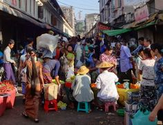 Chinatown Market in Yangon and many other amazing Myanmar sights