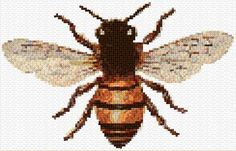 Cross Stitch | Bee xstitch Chart | Design
