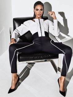 This week, our hot fashion inspiration is Joan Smalls and this sexy, professional editorial for Vogue Mexico, photographed by Jason Kibbler and styled by Patrick Mackie.