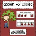 Apple Themed Missing Numbers {Free}