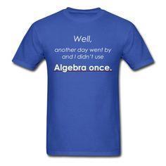 Algebra T-Shirt | djbalogh