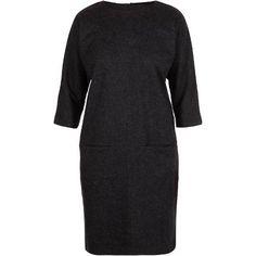 Gemini wool dress