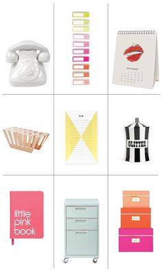 Must have desk accessories for 2015: http://www.stylemepretty.com/living/2015/01/06/chic-tid-bits-for-an-organized-year/