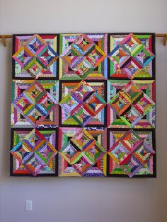 Fabric Soup wall quilt. $3,125.00, via Etsy.  this looks like the quilt gayle and I want to make.