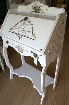 Hand painted Furniture by artist Marsha Bowers of Zulim Bowers Designs