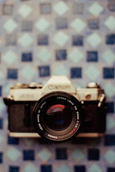 Vintage Canon! Love!