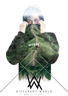 Alan Walker Art Print by majdkhatibart Allen Walker, Walker Art, Edm Music, Dance Music, Alan Olav Walker, Walker Join, Smile With Your Eyes, The Spectre, Best Dj
