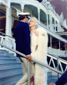 "... ""Some Like It Hot"" movie still ...  Tony Curtis and Marilyn Monroe"