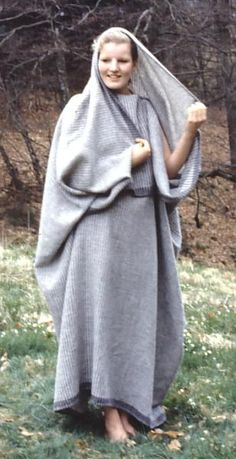 Dress from the iron age