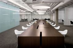 Conference Room with Waffle Slab - Hult International Business School