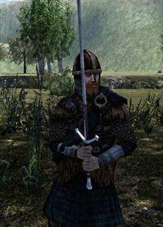 Early Scottish Warrior | Scottish Highland noble image - The Burned Lands: Britannia Mod for ...