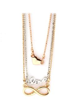 Layered Love Necklace | Awesome Selection of Chic Fashion Jewelry | Emma Stine Limited
