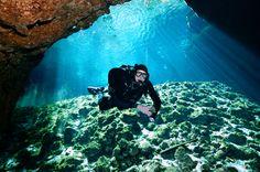 Cenote Zacil Ha halfway to the Room of Tears.