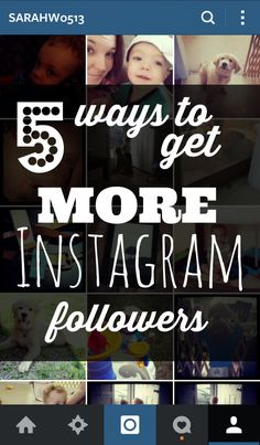 5 Ways to Get More #Instagram #Followers by Mama's Got It Together