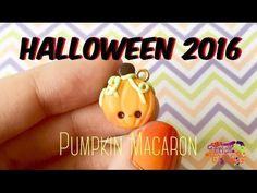 tutorial: mini pumpkin macaron