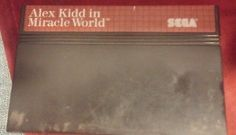Alex Kidd in Miracle World (Sega Master System, 1986) - Cartridge Only -