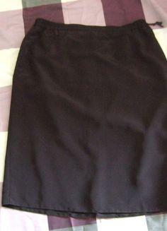 Kaufe meinen Artikel bei #Kleiderkreisel http://www.kleiderkreisel.de/damenmode/lange-rocke/103420588-eleganter-schlichter-schwarzer-strecht-rock