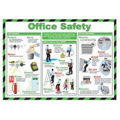 FAR026 - Office Safety Poster