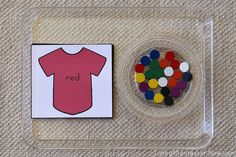 Shirt Color Tray by Deb Chitwood, using #spielgaben