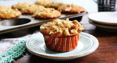 Acorn Squash-Cardamom Muffins http://www.kitchenathoskins.com/2017/01/22/acorn-squash-cardamom-muffins/