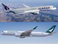Ahora vas y lo caskas: Qatar Airways entra a la capital de Cathay Pacific...