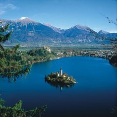 i would love to go back and visit family!  Bled-Slovenija
