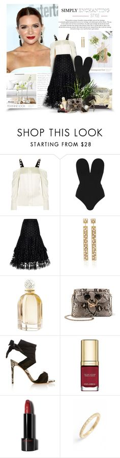 """Simply Enchanting"" by thewondersoffashion ❤ liked on Polyvore featuring 3.1 Phillip Lim, Rare London, Alexis, Nancy Newberg, Balenciaga, J.W. Anderson, Alexandre Birman, Dolce&Gabbana, Shiseido and Armenta"