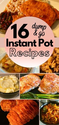 You have got to try these 16 Dump and Push Start Instant Pot Meals! | Easy Instant Pot Dinner Recipes | Easy Instant Pot Healthy Recipes | Instant Pot Recipes for Beginners | Instant Pot Easy Recipes | Easy Dump IP Recipes | Instant Pot Recipes Easy Dump | Instant Pot Recipes Easy Dump Dinners | Instant Pot Recipes Easy Dump Chicken | Instant Pot Recipes Easy Dump Beef | Instant Pot Recipes Easy Dump and Start | #easy #healthy #instantpot #onepot #instapot #dumpandpushstart