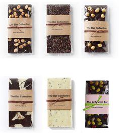 zoë's chocolate simple, effective packaging. highlights the product! Homemade Chocolate Bars, Artisan Chocolate, Chocolate Brands, Chocolate Shop, Chocolate Bark, Chocolate Gifts, Brownie Packaging, Bread Packaging, Bakery Packaging