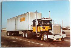 Peterbilt 359, Peterbilt Trucks, Vintage Trucks, Old Trucks, Freight Truck, Home Of The Brave, Classic Trucks, Semi Trucks, Trailers