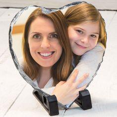 Anneye Özel Fotoğraflı Taş Baskı
