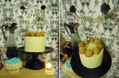 pumkink & buñuelos cake