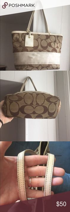 f63bc8605e1469 Authentic Coach Bag ONLY LOOKING TO TRADE FOR ANOTHER COACH BAG OR A MK BAG!