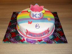 K3 rond taart/ Cake