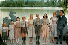 Rodgers and Hammerstein's The Sound of Music is a 1965 American musical film directed by Robert Wise and starring Julie Andrews and Christopher Plummer Christopher Plummer, Christopher Nolan, Sound Of Music Costumes, Sound Of Music Movie, Movie Tv, Movie Cast, Julie Andrews, Beau Film, Old Movies