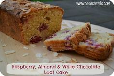 Raspberry, White Chocolate and Almond Loaf Cake – Bake of the Week