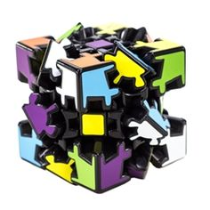 Gear Cube Puzzle - Thinking Skills - Timberdoodle Co.