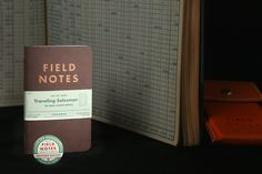 The Traveling Salesman edition of Field Notes included the best paper by far when it come to fountain pen compatibility . and the green ledger design was cool, too.